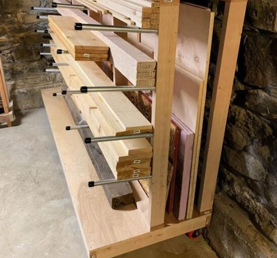 Free Lumber Rack Plans