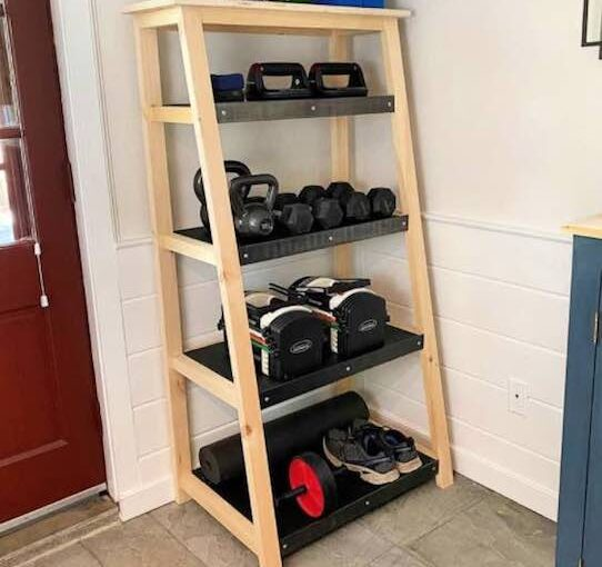 Weight Storage Shelf