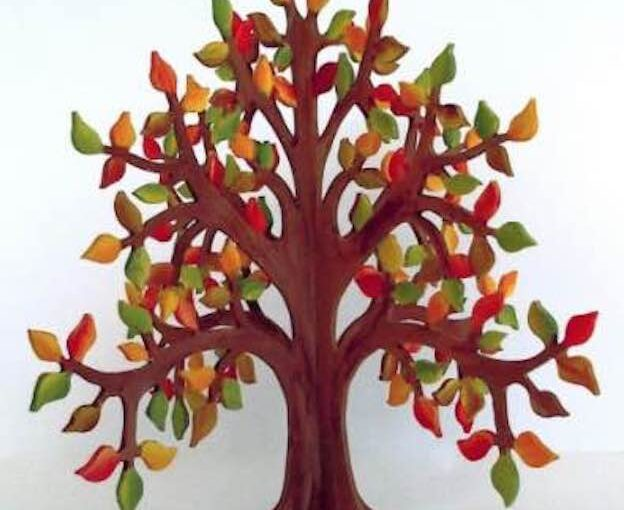 Autumn Tree On The Scroll Saw
