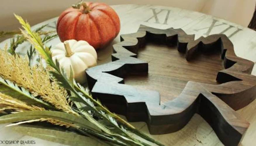 Build a Leaf Tray with these free plans.