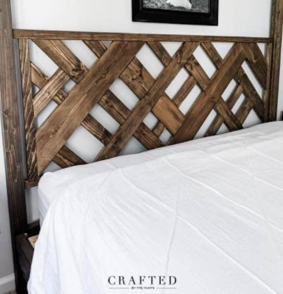 Free plans to build a headboard.