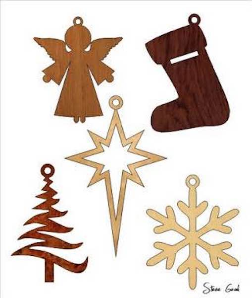 Free Scroll Saw Christmas Ornament Patterns.