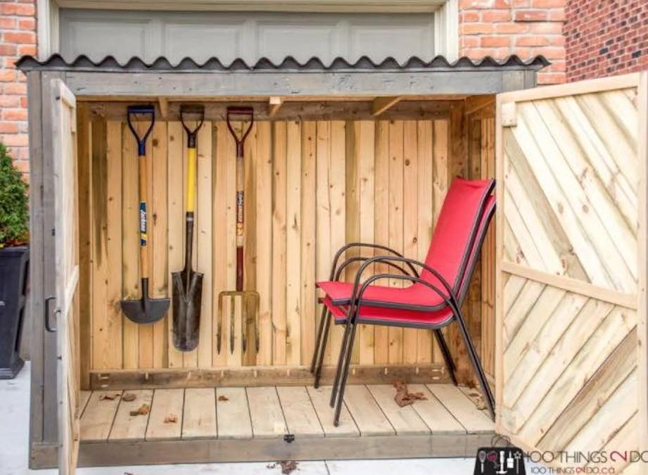 Building Plans For A Small Shed.