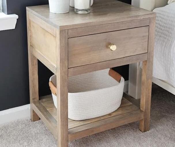 Nightstand With A Drawer