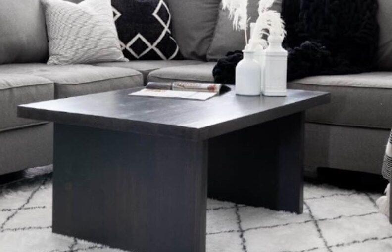 DIY Coffee Table Plans