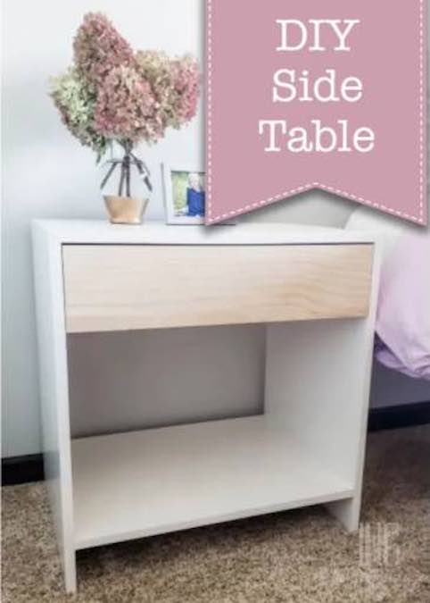 Free plans to build Modern Boho Side Table.