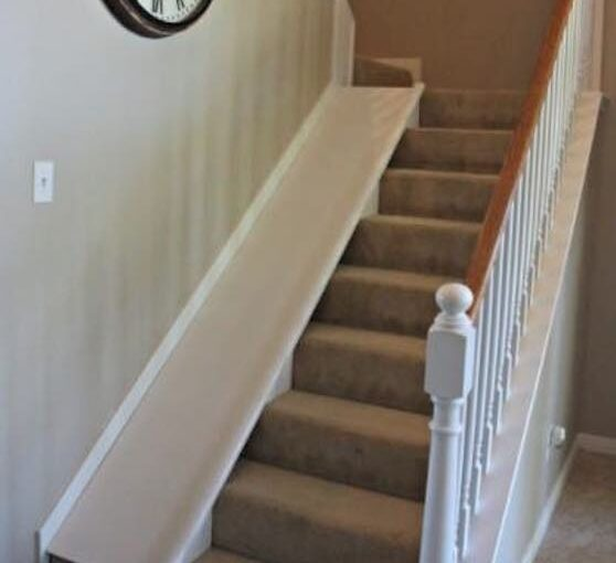 Removable Stair Slide