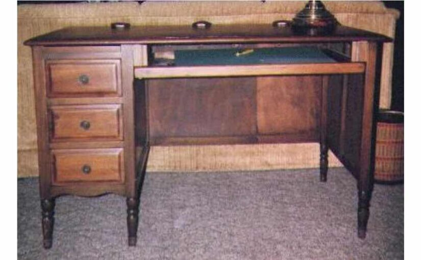 Rebuilt Desk