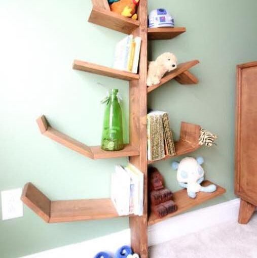 Build A Tree Bookshelf