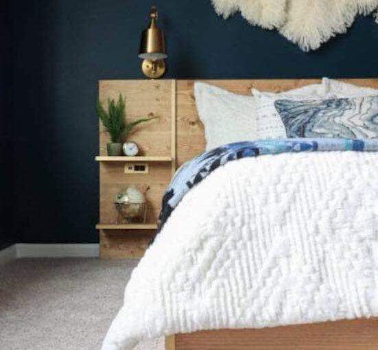 Easiest DIY Platform Bed