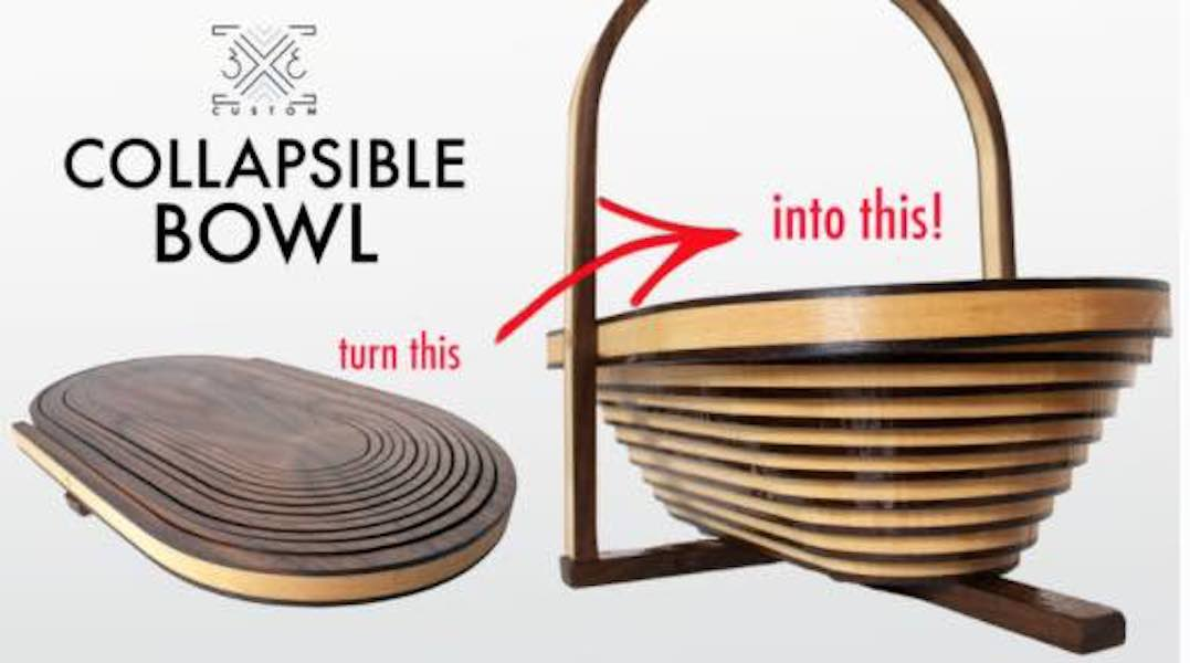 Build a Collapsible Bandsaw Bowl using free plans.
