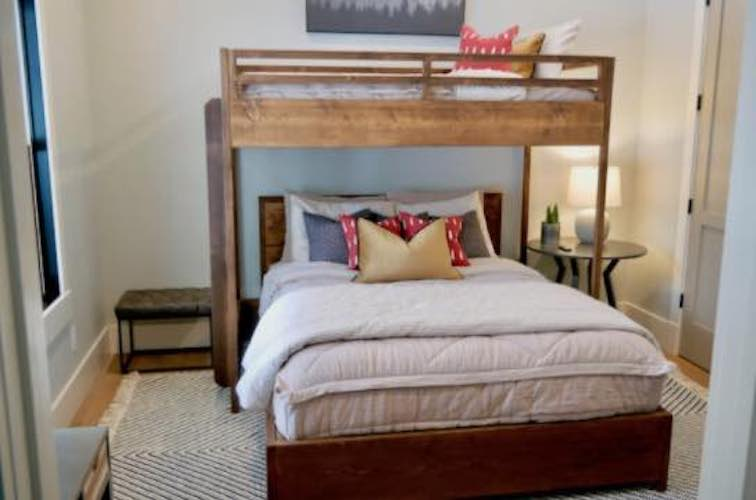 Free plans to build your own Twin Loft Bed.