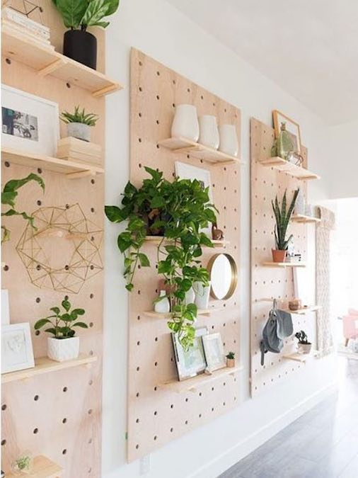 Build a few Pegboards For Storage And Design using free plans.