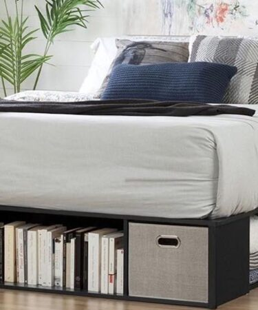 Build a Platform Bed With Storage using free plans.