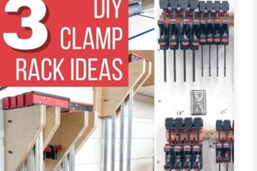 Build Clamp Racks For Your Workshop using free plans.
