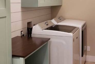 Laundry Room Cabinets you can build with free plans.